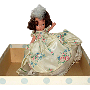 Nancy Ann Storybook Bisque Storybook Doll in Original Box - Beauty, from Beauty and the Beast