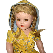 "18"" Composition Doll circa 1938 - 1940"