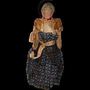 Handmade Cloth Navajo Doll - Late 1930's