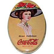 1981 Coca Cola Advertising Tin Sewing Kit