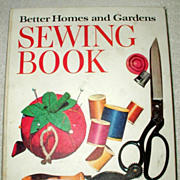 SALE Better Homes and Gardens Sewing Book - 1970 Edition
