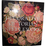 SALE Decorative Victorian Needlework - Elizabeth Bradley 1990