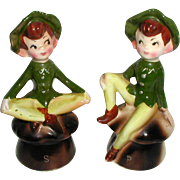 1950's Enesco Irish Pixie Salt and Pepper Shakers