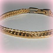 SALE Classic Gold-Tone Napier Bracelet