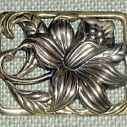 SALE Danecraft Sterling Silver Daffodil Pin