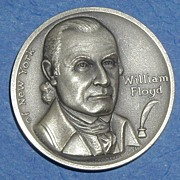 SALE Declaration of Independence Medal - William Floyd of New York