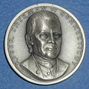 SALE Declaration of Independence Medal - Roger Sherman of Connecticut