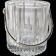 """Mikasa """"Arctic Lights"""" Lead Crystal Ice Bucket"""
