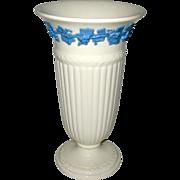 """Wedgwood of Etruria & Barlaston 8 3/4"""" Queen's Ware Vase  1964"""
