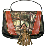 1980's Gayle Anderson Designer Leather Purse
