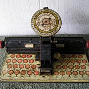 Marx Tin Toy Typewriter