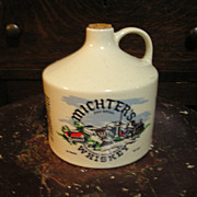 SALE Michters Whiskey Stoneware Jug