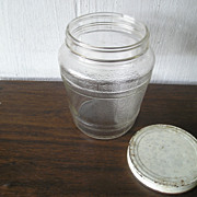 Glass Ball Pickle Jar with Lid