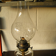 Oil Lamp with Chimney