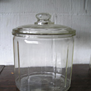 Glass Store Cigar Jar