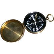 Compass with Brass Finish Casing