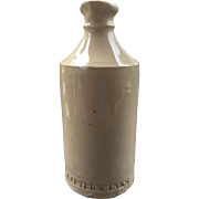 Carter's Ink Stoneware Bottle