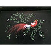 Tole Painted Service Tray