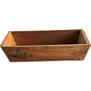 Wood Cheese Box-Advertising