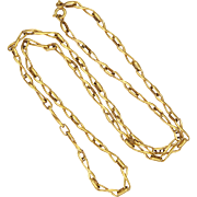 French Gold Filled Necklace -MURAT -  23½""