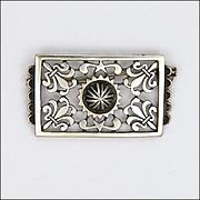 French Silver Fleur de Lis PIn