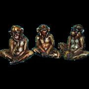 Antonio Borsato Monkey Figurines