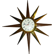 Ingraham Starburst Electric Wall Clock