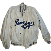 SOLD 1955 Brooklyn Dodgers World Series Jacket