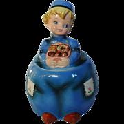 REDUCED Lefton Dutch Boy Cookie Jar