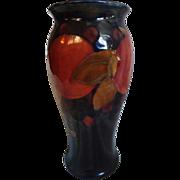 """REDUCED 8"""" Moorcroft Pomegranate Vase"""