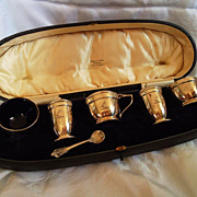 REDUCED Mappin & Webb Sterling Condiment Set