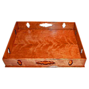 Artisan Crafted  Early American Curly Cherry Tray