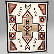 SALE J.B. Moore Crystal Navajo Rug