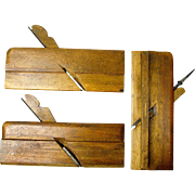 SALE Three Sandusky Tool Company Molding Planes, Ca. 1869-1926