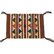 SALE Wide Ruins Navajo Hand Woven Weaving, Tapestry, Ca. 1970's