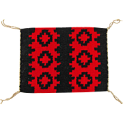 SALE Hand Woven Ganado Style Navajo Weaving, Tapestry, Ca. 1970's