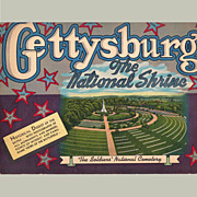 Gettysburg, The National Shrine, Souvenir Booklet, 1952