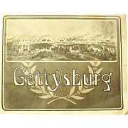 "Offers Considered, ""Gettysburg"" Battlefield Souvenir Booklet, Photographs by W.H. Tipton,"