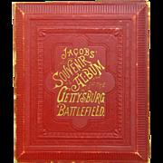 SALE PENDING Gettysburg Battlefield Souvenir Album , G.E. Jacobs, 1889