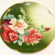Decorative K & G Rose Plate