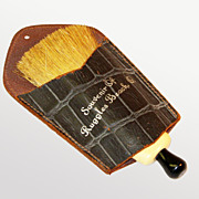 Ruggles Beach, Ohio Souvenir Clothes Brush/ Whisk Broom, 1940's - 50's