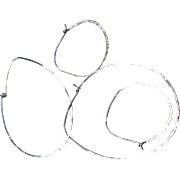 SALE Silver Hoops forged Sterling Silver Petal Hoops large Bold and small earrings Gem Bliss