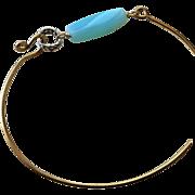 SALE Peruvian Opal Layering Bracelet Bronze bangle bracelet Camp Sundance Gem Bliss