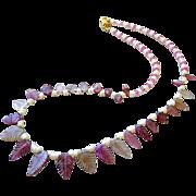 SALE Tourmaline necklace, 14K Gold, Pink necklace, Topaz necklace, Camp Sundance, Gem Bliss