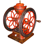 Large antique Enterprise coffee mill grinder No. 7