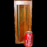 Quartered oak salesman sample telephone booth