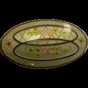 Vintage Sterling Silver Genuine Cloisonne Pin