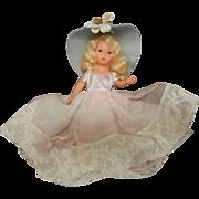 Vintage Storybook Composition Doll Blonde Hair
