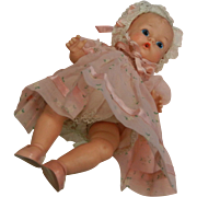 Vintage Vogue Dolls, Inc. Baby Ginnette Doll & Accessories