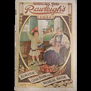 Old Rawleigh's 1917 Almanac, Cookbook, & Medical Guide